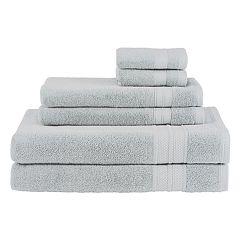 Avanti Turkish Spa 6-piece Solid Towel Set