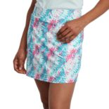 Women's Pebble Beach Printed Knit Golf Skort