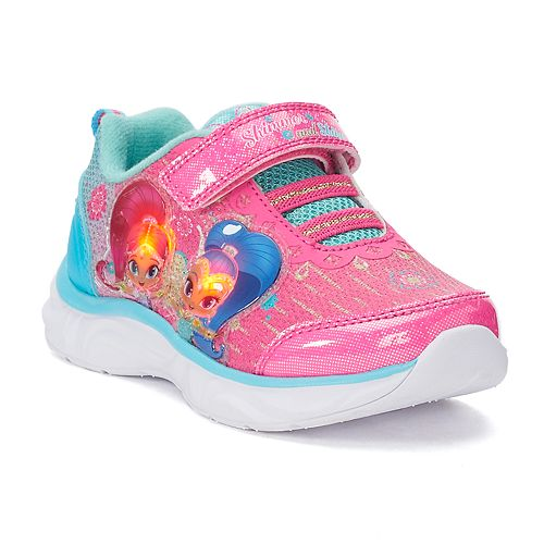 Shimmer and Shine Toddler Girls' Light Up Sneakers