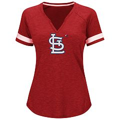 Plus Size Majestic St. Louis Cardinals Game Stopper Tee