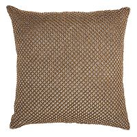 Inspire Me! Home Decor Beaded Lattice Throw Pillow