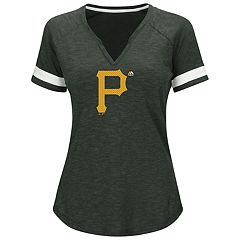 Plus Size Majestic Pittsburgh Pirates Game Stopper Tee