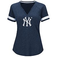 Plus Size Majestic New York Yankees Game Stopper Tee