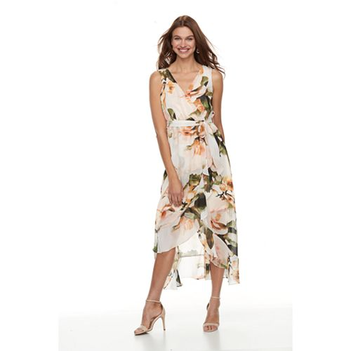 05fa7d1e328 Petite Chaya Floral High-Low Maxi Dress