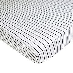 TL Care Striped Fitted Knit Playard Sheet