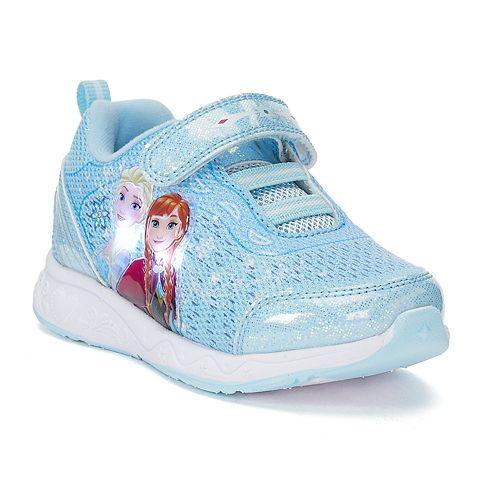 Disney's Frozen Anna & Elsa Toddler Girls' Light Up Sneakers
