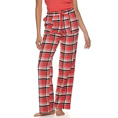 Juniors' SO® Flannel Plaid Pajama Pants