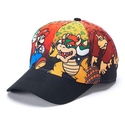 Boys 4-20 Super Mario Bros. Cap