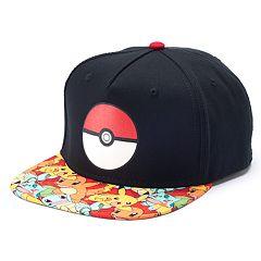 Boys 4-20 Pokemon Cap