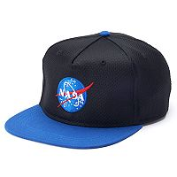 Boys 4-20 Nasa Logo Cap