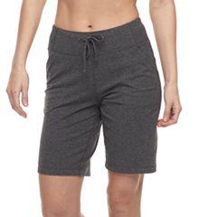 Petite Tek Gear® Drawstring Bermuda Shorts