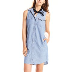 Women's Levi's® Modern Western Jean Shirtdress