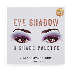 Academy of Colour 9 Shade Prismatic Eyeshadow Palette