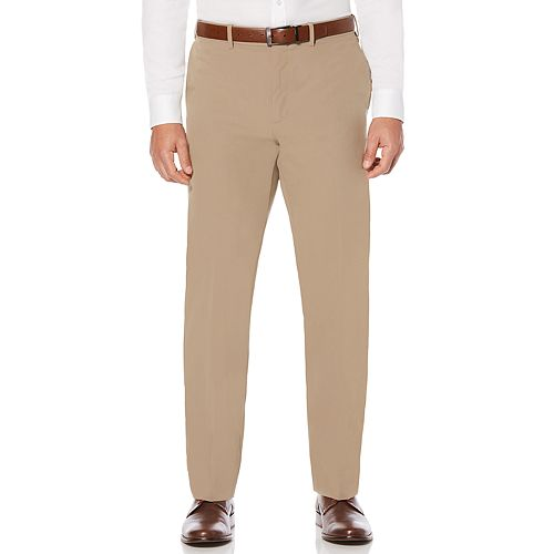 Men's Savane Active Flex 4-Way Stretch Flat Front Dress Pant