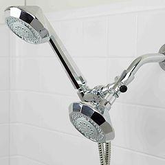 Home Basics Dual Shower Massager Set