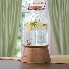 Corona 3-Gallon Beverage Dispenser with Stand