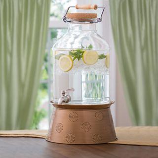 Corona 3-Gallon Beverage Dispenser with Stand