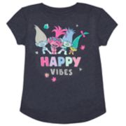 "Girls 4-10 Jumping Beans® DreamWorks Trolls ""Happy Vibes"" Poppy, Branch & Creek Tee"