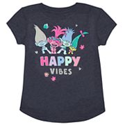 Girls 4-10 Jumping Beans® DreamWorks Trolls 'Happy Vibes' Poppy, Branch & Creek Tee