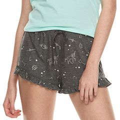 Juniors' SO® Ruffle Pajama Shorts