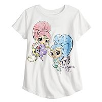 Girls 4-10 Jumping Beans® Shimmer & Shine Watercolor Graphic Tee
