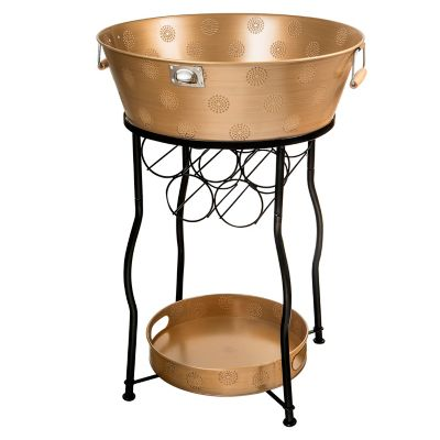 Corona Xl Copper Party Station Copper with Serving Tray