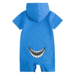 Baby Boy Hurley Surf Hooded Romper