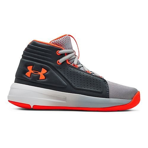 8398431143 Under Armour Torch Mid Preschool Boys' Basketball Shoes