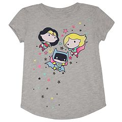Girls 4-10 Jumping Beans® DC Comics Wonder Woman, Supergirl & Batgirl Graphic Tee