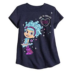 Girls 4-10 Jumping Beans® Luna Petunia Graphic Tee