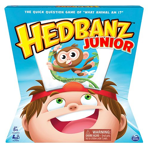 Hedbanz Jr Family Board Game By Spin Master Games