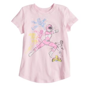 Girls 4-10 Jumping Beans® Power Ranger Pink Ranger Graphic Tee