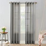 No. 918 1-Panel Emily Sheer Voile Grommet Window Curtain