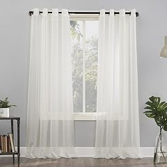 No 918 Emily Sheer Voile Grommet Window Curtain