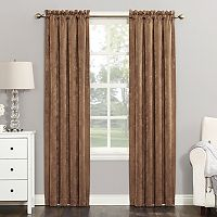 Sun Zero Cassidy Velvet Blackout Window Curtain