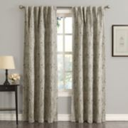 Sun Zero Mayfield Floral Window Curtain