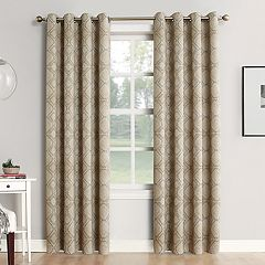 Sun Zero Blackout 1-Panel Extreme Neema Theater Grade Window Curtain