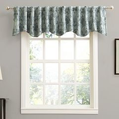 Sun Zero Mayfield Floral Window Valance