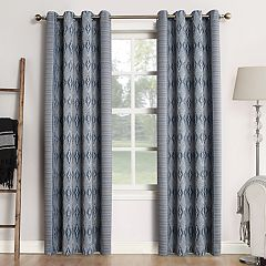 Sun Zero Blackout 1-Panel Extreme Tahoe Theater Grade Window Curtain