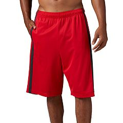 Men's Reebok Colorblock Mesh 10-inch Basketball Shorts