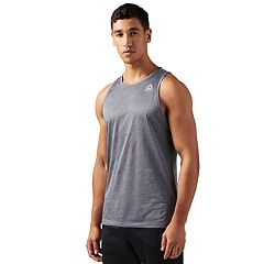 Men's Reebok Melange Sleeveless Performance Tee