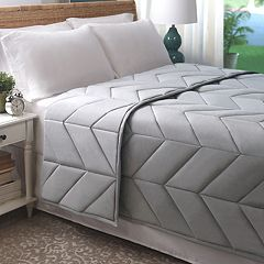 Allied Home Cotton Chevron Quilted Blanket