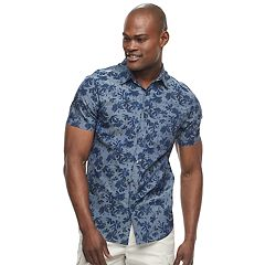 Men's Apt. 9® Slim-Fit Tropical Button-Down Shirt