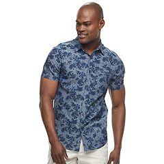 Men's Apt. 9® Slim-Fit Tropical Button-Down Shirt