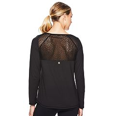 Women's Gaiam Lacie Long Sleeve Yoga Top