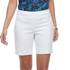 Women's Dana Buchman 8-in. Pull-On Shorts
