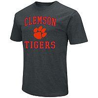 Men's Campus Heritage Clemson Tigers Charcoal Tee