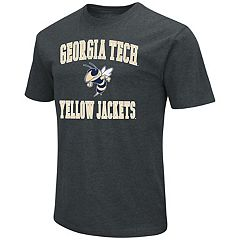 Men's Campus Heritage Georgia Tech Yellow Jackets Charcoal Tee