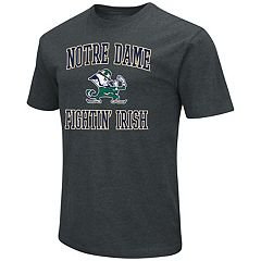 Men's Campus Heritage Notre Dame Fighting Irish Charcoal Tee