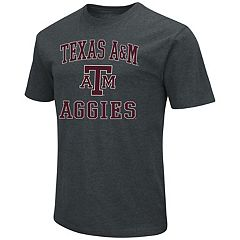 Men's Campus Heritage Texas A&M Aggies Charcoal Tee